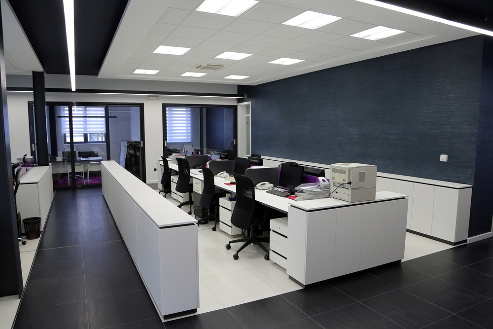our post construction cleaning demo in Toronto after office space re-model