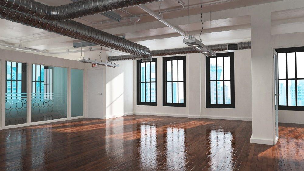 Hardwood floor wax demo